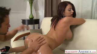 Big assed babe Sophie Dee fucking