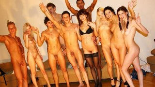 Insatiable college chicks go wild after exams