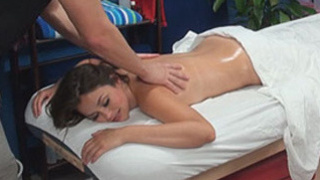 Allie seduced and fucked by her massage therapist on hidden camera