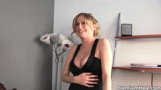 Katie Kox sucks on black cocks for real fun