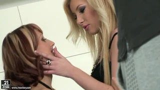 The lust of Donna Bell and Erika Venus is palpable