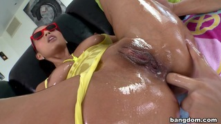 Adriana Luna Gets Her Pussy Pounded and...