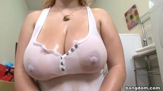 Shyla Shy's Glistening Tits