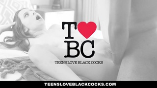 TeensLoveBlackCocks - Blonde Teen Fucks Black Cock For Revenge