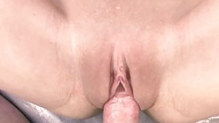 Horny MILFs Jen and Penelope Sky take dick in a th