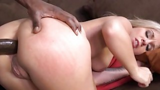 Interracial anal fuck with Madelyn Monroe