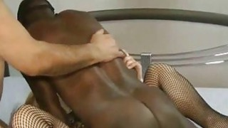 Blonde MILF Interracial Threesome