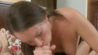 Big cock in her ass