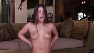 Smoking hot babe Eva Lovia fucked and facialized