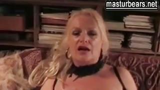 busty and sex crazy German Granny Sandra