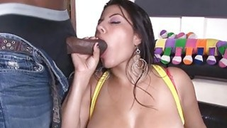 Darling mesmerizing dude with her wet oral job