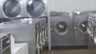 Four teens fucked at laundromat