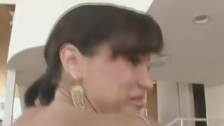 Sweet hot babe Lisa Ann getting horny