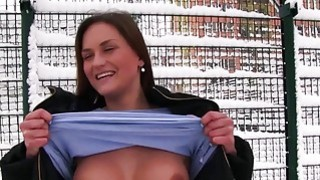 Amateur Barbara Bieber pounded in public