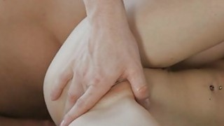 Juvenile babe gets her gaping holes drilled hard