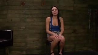 Hot babe Isa Mendez gets fucked in wild bondage action