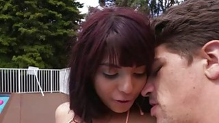Gina Valentina abused and deep throated