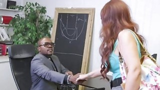 Angry MILF  with big tits gets penetrated by big black dicks