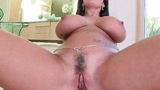 Pornstar fucks like a real slut in the pov clip