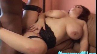 Amber Foxxx Puts Her Fat Ass For A Huge Dick
