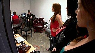Pornstars fucked backstage