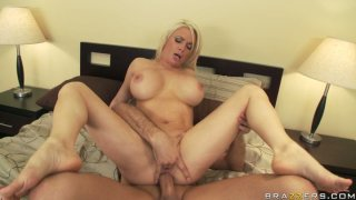 Busty milf slut Diamond Foxxx gets full anal treatment