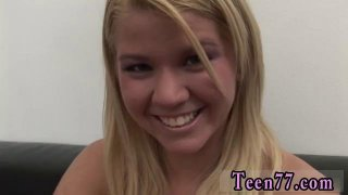 Hot young blonde teen masturbating Young Zorah gets her