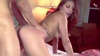 Hussy gal Gracie Glam rides cock backwards