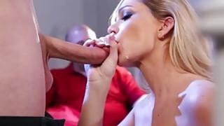 Sean Lawless fuck Destiny Dixons sweet pussy sideways
