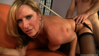 Busty bitch Jodi West likes it doggy
