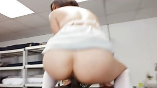 Sexy tailor Milcah Halili fuck by a black meat