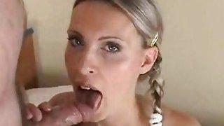 Lewd playgirl sucks the best