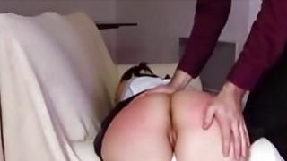 Spanking and anal training my new sub Ashley