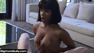 Jenna Foxx Strips And Fucks For Bro's Bully