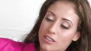 Brunette MILF And Hot Teen Tag Team Doggystyle Threesome
