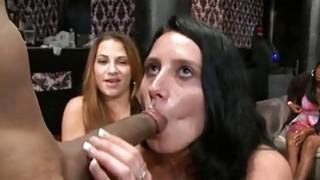 Sweethearts are having pleasure sampling cocks