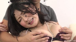 Shy chick Megumi Haruka turns dirty when it come to sweaty fuck