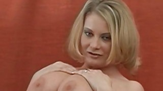 Large tits playgirl charms a dick with riding