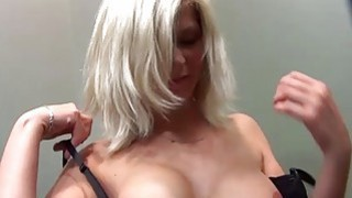 MallCuties Czech blonde girl buys the clothes