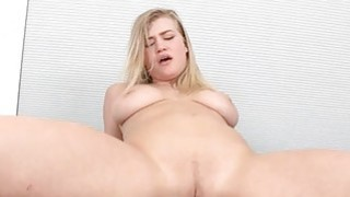 2 gorgeous honeys share a tough male dick