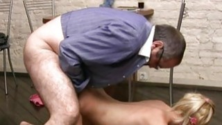 Playgirl offers her pussy for teachers enjoyment