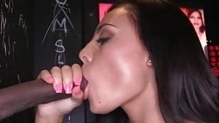 Babe lulls a naughty knob with zealous sucking