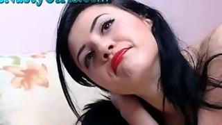 Amazing Webcam Slut Dildos Her Pussy 4