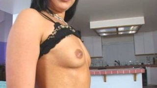 Not pretty brunette mom Bianca Dagger brags about her fat pussy
