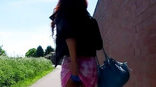 PORNXN Stunning Kiki Minaj public pissing