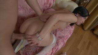 Nora in stockings sex video with a beautiful bimbo